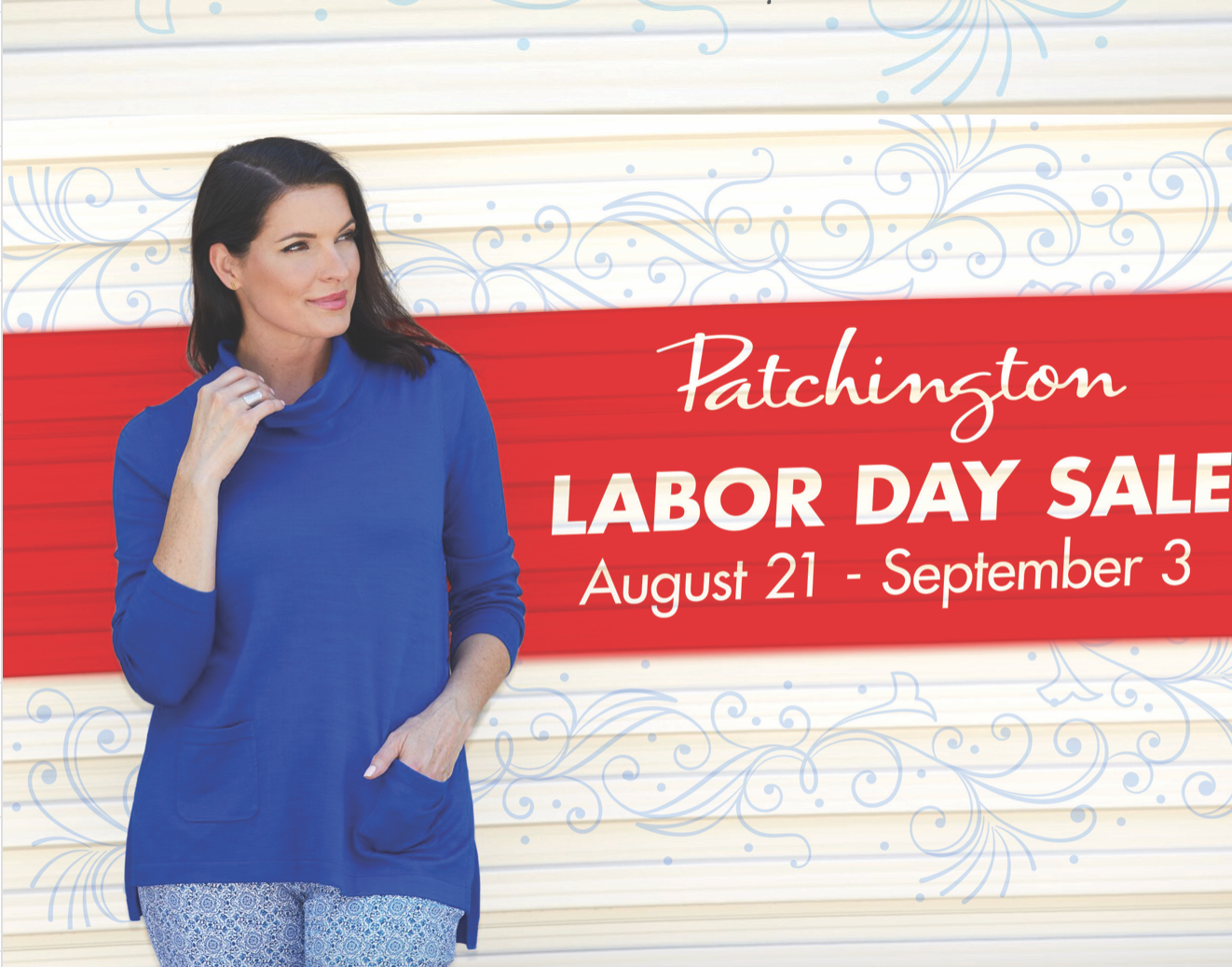 Patchington Labor Day Sale, The Village Shops on Venetian Bay