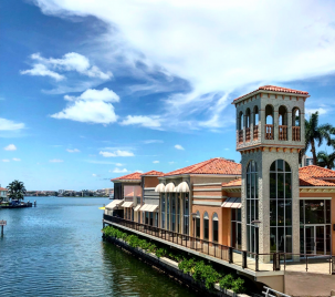 The Village Shops on Venetian Bay, Waterfront Shopping and Dining Destination in Naples