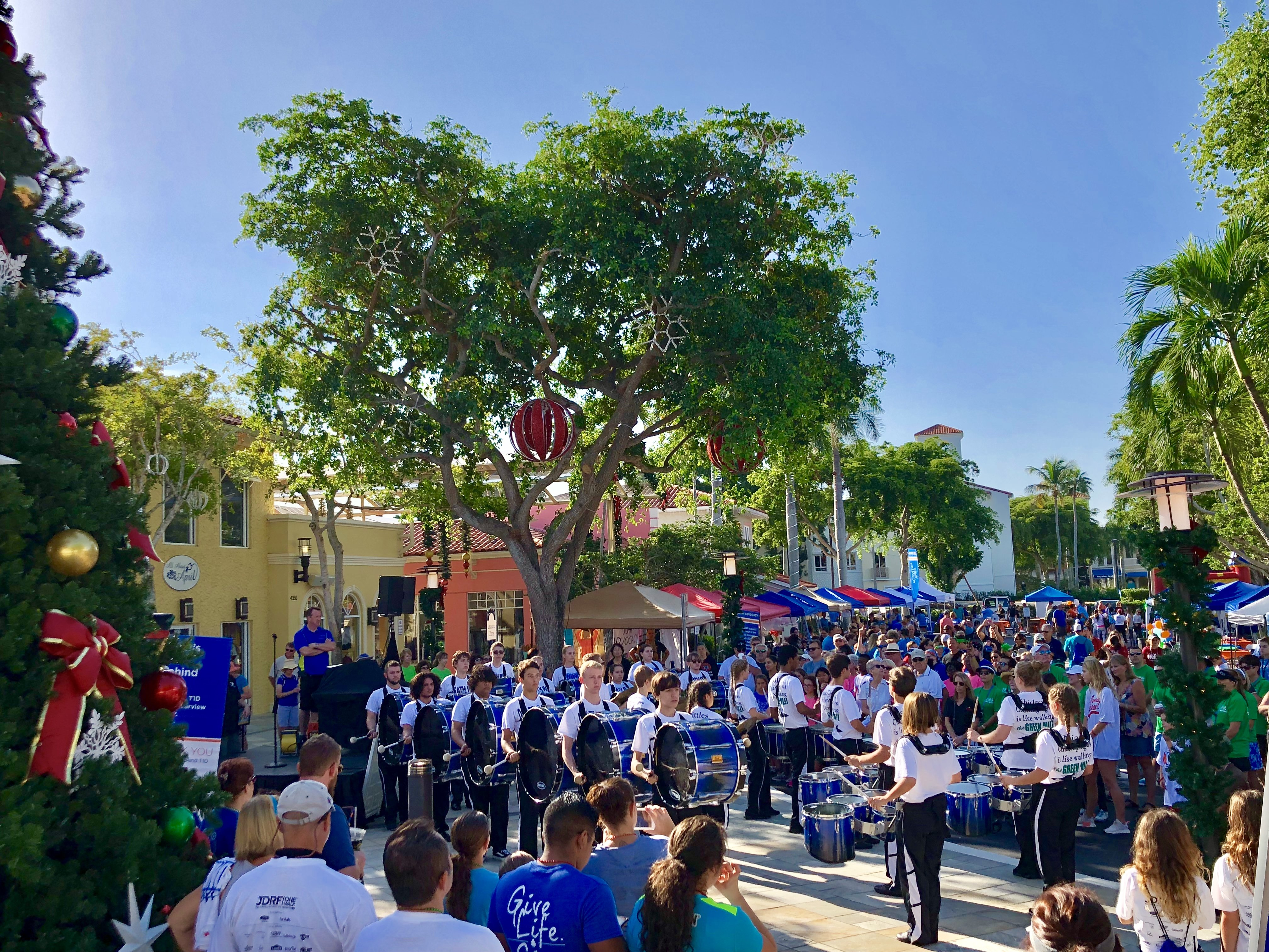 JDRF One Walk at The Village Shops on Venetian Bay!