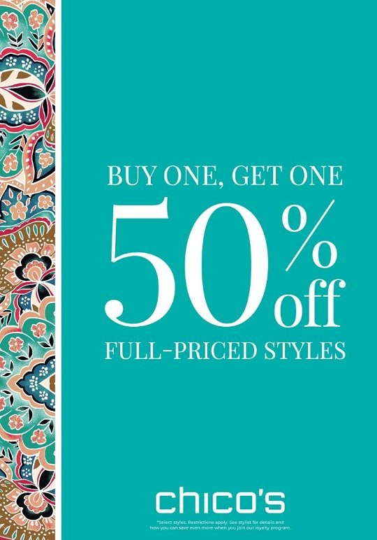 Chico's at The Village Shops on Venetian Bay Promotion
