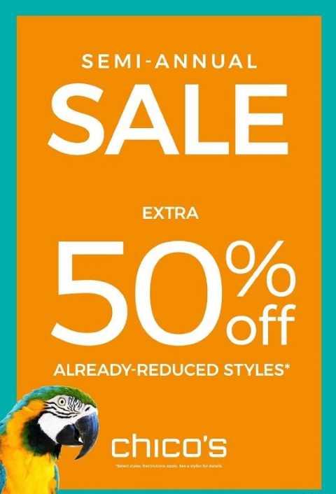 Chico's Semi Annual Sale