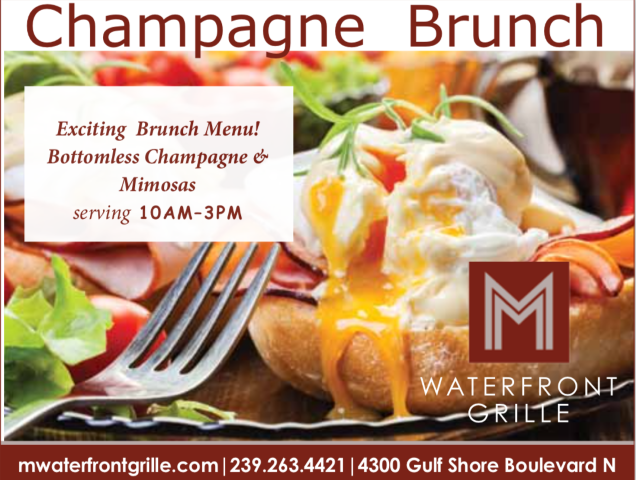Brunch at M Waterfront Grille, Brunch at The Village Shops on Venetian Bay