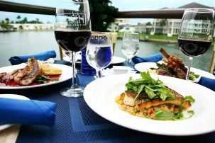Fish Restaurant, Naples, Florida Dining, Waterfront Dining, Dining at The Village Shops on Venetian Bay