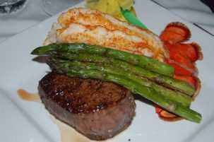 T-Michaels Steak & Lobster House at The Village Shops on Venetian Bay, Steak and Lobster Dinner, Waterfront Dining, Naples Florida