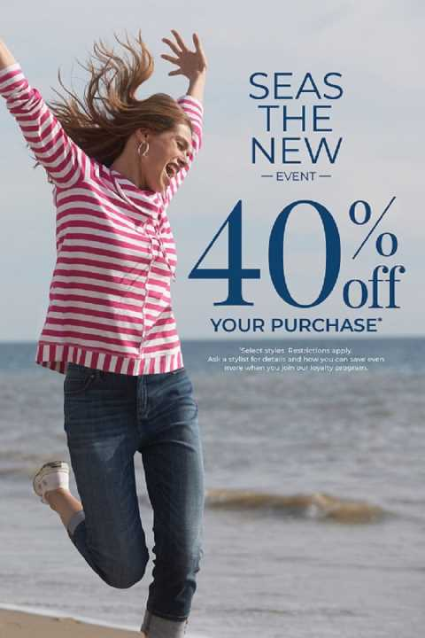 Chico's promotion, Chico's Women Fashion at The Village Shops on Venetian Bay