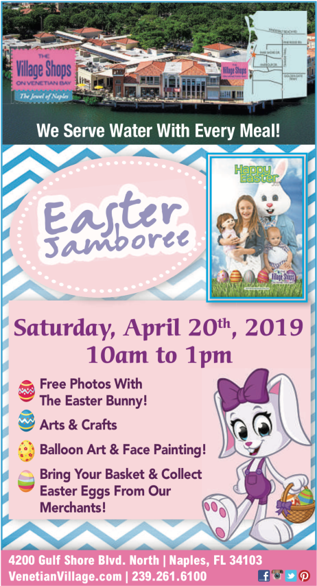 Easter Jamboree at The Village Shops, Naples events, Easter Events