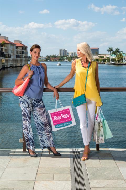 The Village Shops on Venetian Bay, Waterfront Shopping, Naples, Florida Shopping